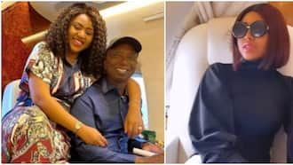Ned should take it easy: Mixed reactions as Regina Daniels lands in the hospital again
