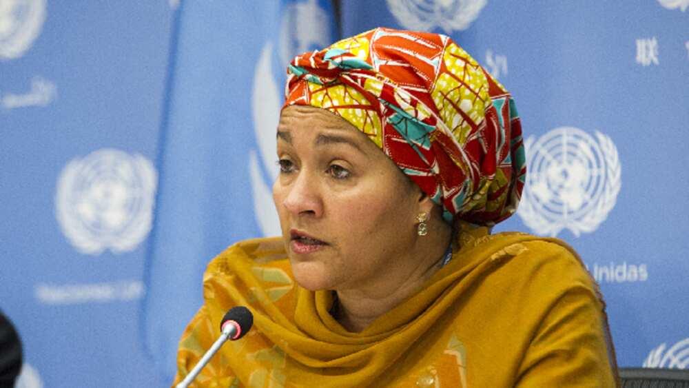Na yi imani cewa mace na iya gadar Buhari, In ji Amina Mohammed