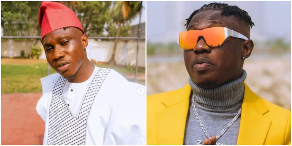 Zlatan Ibile's lunch combination of monkey eat and garri causes stir online