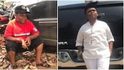 I enjoy your hotel - Daddy Showkey says as he congratulates talented actor on his new business (video)