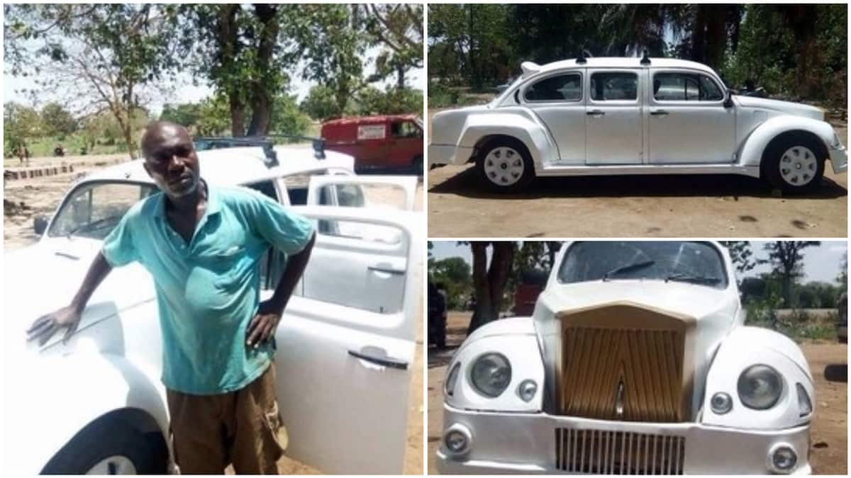 Rolls Royce Talented Nigerian Man Converts Beetle Into Luxury Car