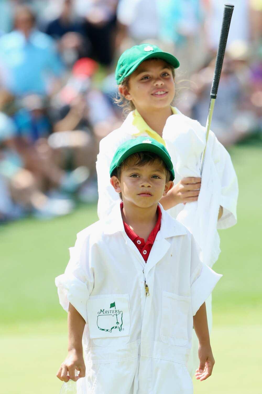 Tiger Woods kids