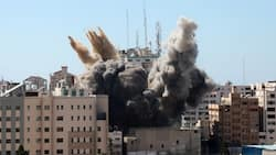 Tension as Israeli airstrike demolishes 12-storey building in Gaza