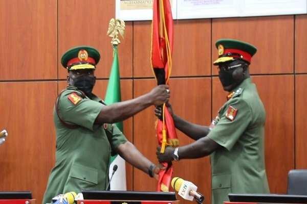 Insecurity: Attahiru takes over from Tukur Buratai as Chief of Army Staff