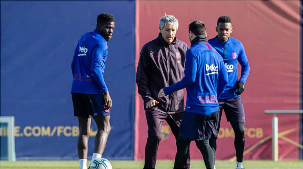 Quique Setien threatens to sue Barcelona over non-payment of his severance package