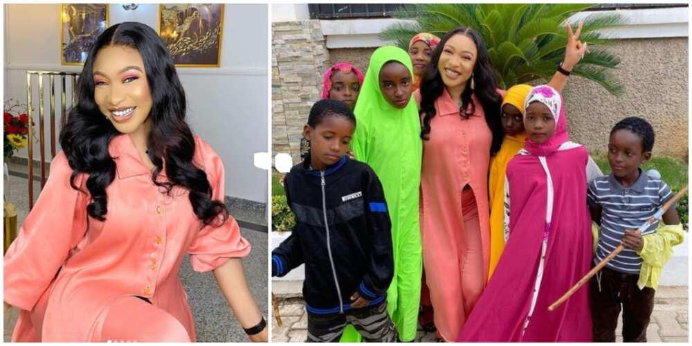 Eid Mubarak: Nollywood star Tonto Dikeh set to feed 2000 Muslim children