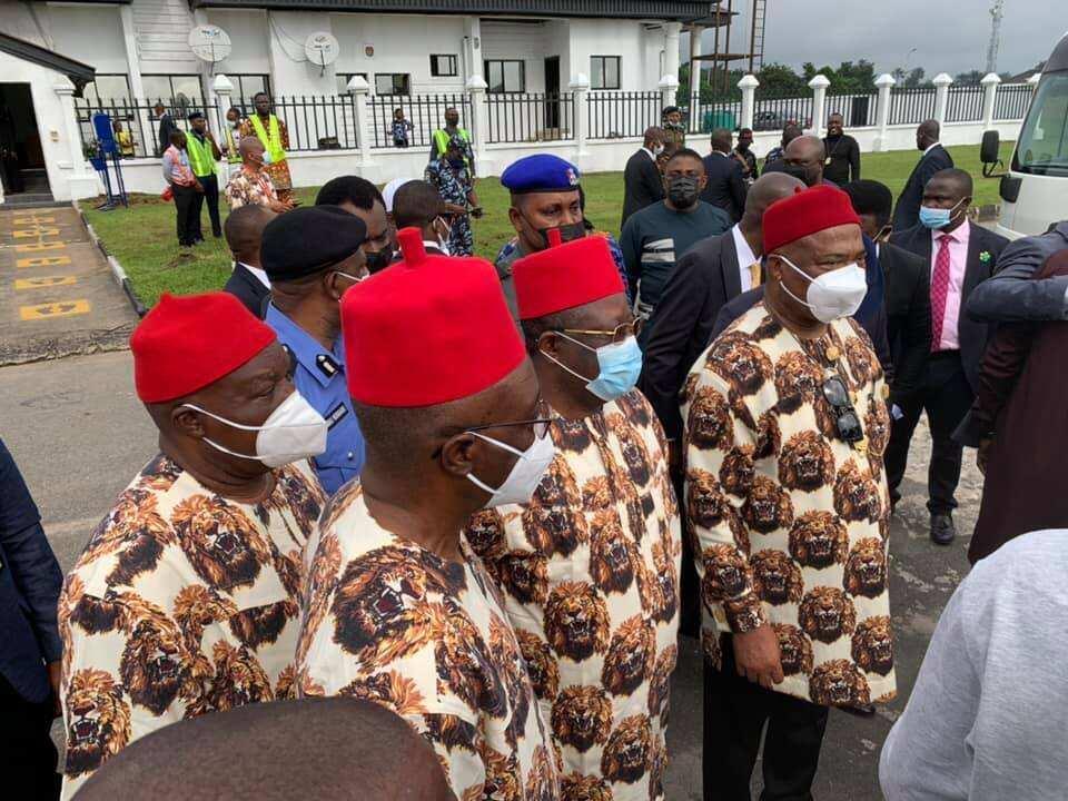 Umahi is in Imo to welcome Buhari