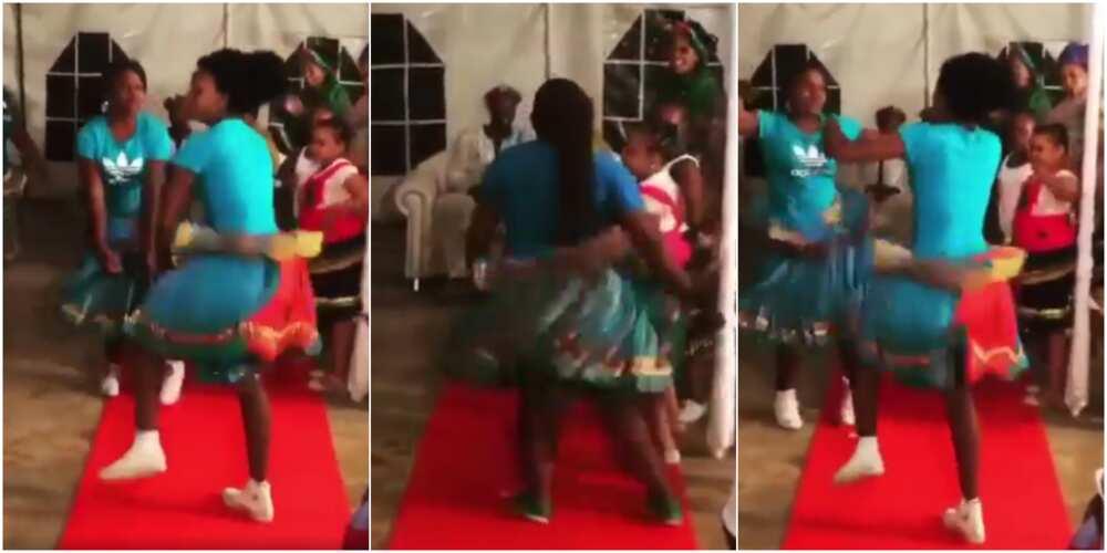 Xibelani dance originated in South Africa.