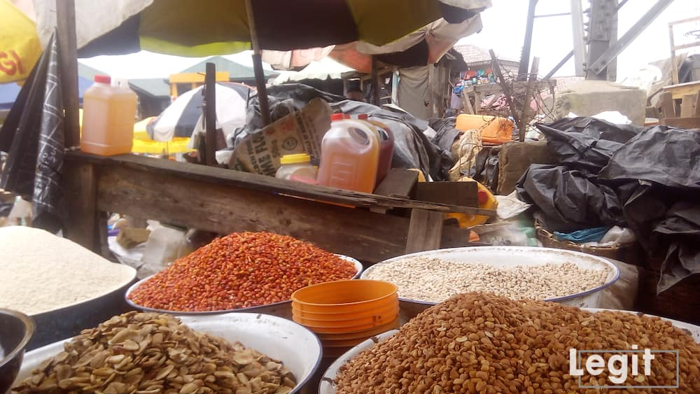 At the market visited, the presence of few buyers has now become the order of the day. Photo credit: Esther Odili