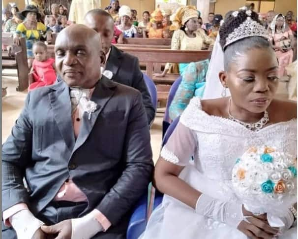 Nigeria woman marries visually-impaired lover in Anambra