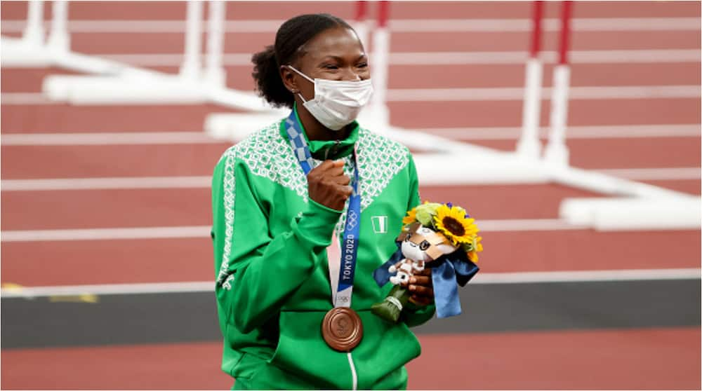 Nigeria's Tokyo Olympics Bronze Medalist Ese Brume Reveals What Her Next Medal Would Look Like