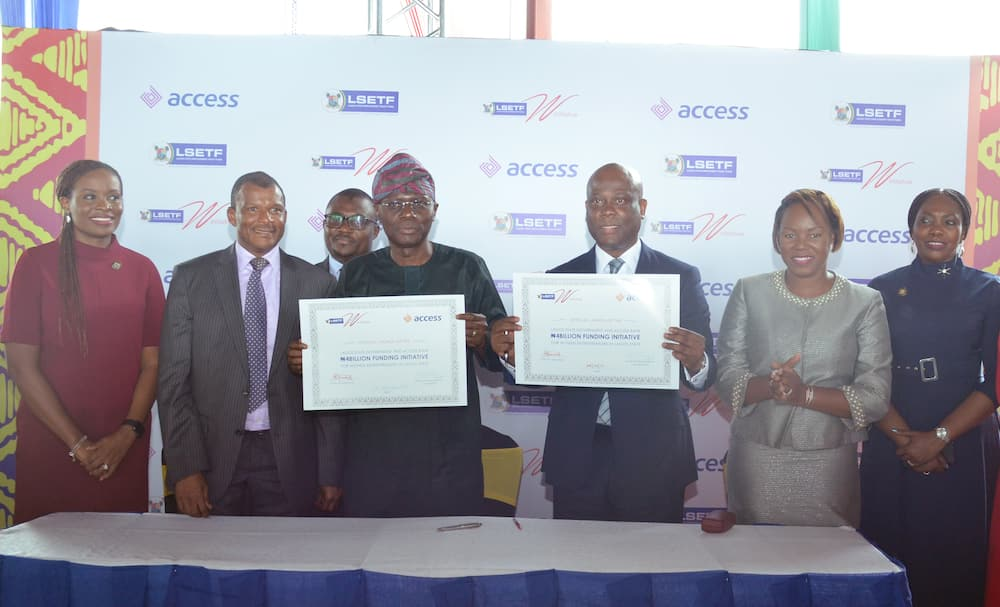 Access Bank partners with Lagos state to launch N10b loan portfolio for women