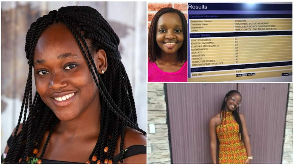 17 Year Old Nigerian Teenager who Had 9 A's in WAEC Offered N1.9bn Worth of Scholarships in America and Canada