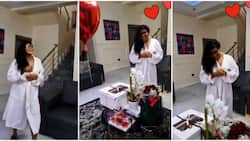 Actress Rita Dominic's bae treats her to lovely Valentine's Day surprise