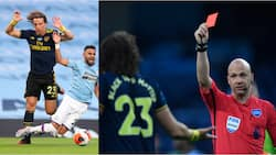 Angry Arsenal fans attack David Luiz for poor show against Man City, call him 1 name