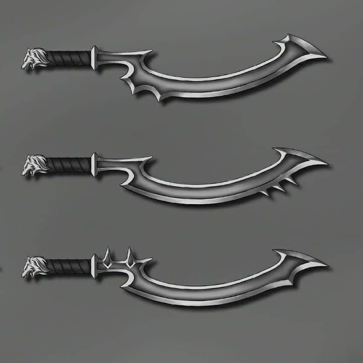 types of sword