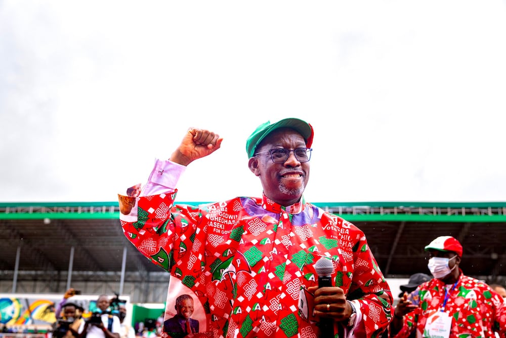 Gov Okowa urges Nigerians to support PDP to rule Nigeria in 2023
