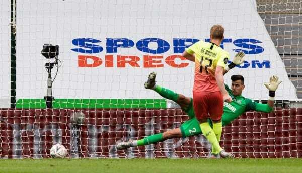 Newcastle vs Manchester City: De Bruyne, Sterling fire Citizens to FA Cup semis