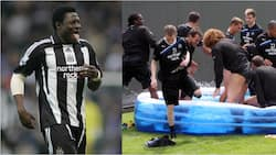 How Obafemi Martins paid over N67m as fine for failing to obey instruction after joining Newcastle on this day 15 years ago