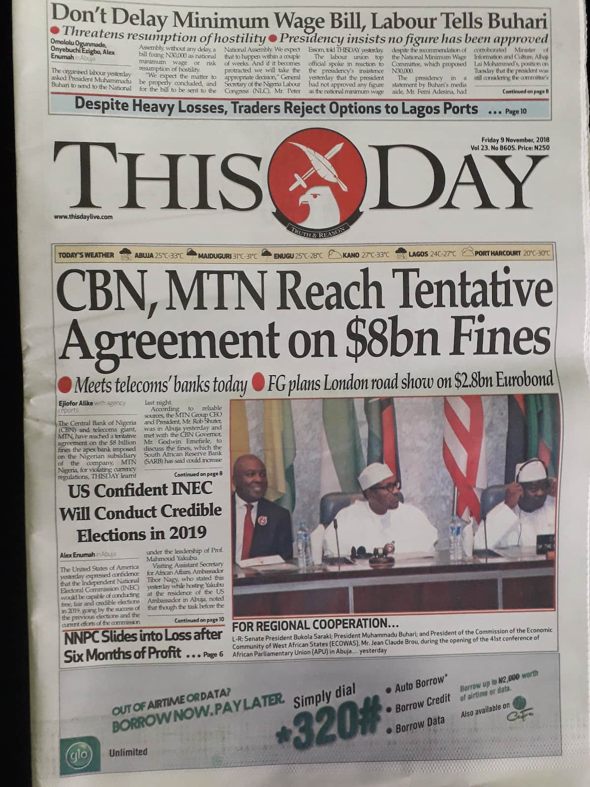 Newspaper Review: PDP charges Interpol, NIA to track down Oshiomhole