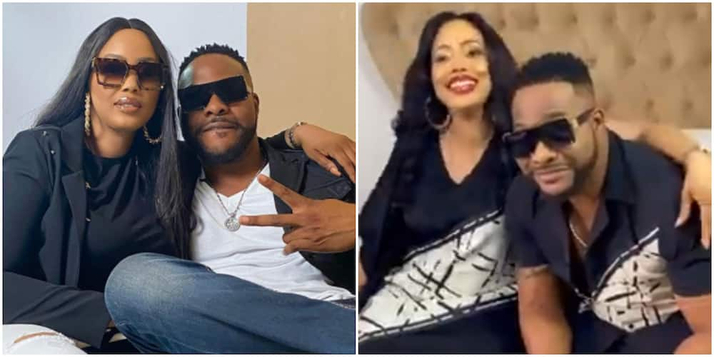 She has my mumu button now: Actor Bolanle Ninalowo proudly shows off his beautiful wife in matching outfits