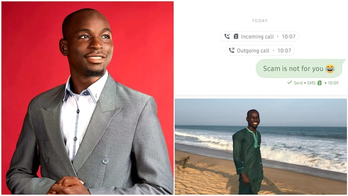 Scam is not for you: Nigerian man sends SMS to fraudster who wanted to dupe him, shares funny screenshot