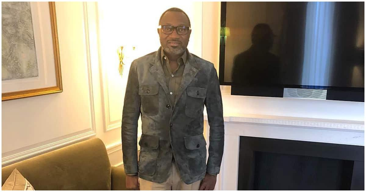 Billionaire Femi Otedola dismisses troll who says he does not help poor people