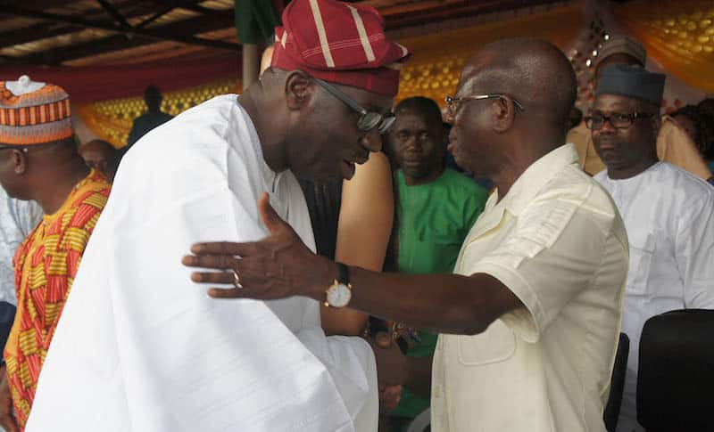 Image result for I have nothing against Obaseki's second term bid - Oshiomhole