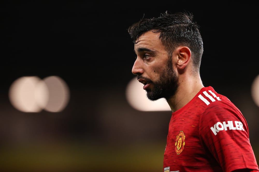 Bruno Fernandes, Portugal international, says he wants to win titles with Man United