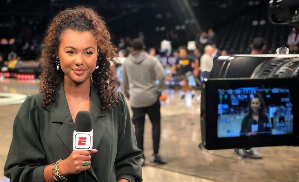 Malika Andrews ESPN