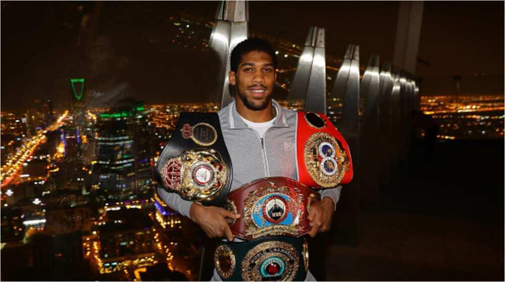 Anthony Joshua: British-Nigerian boxer warns Tyson fury ahead of the showdown in 2021
