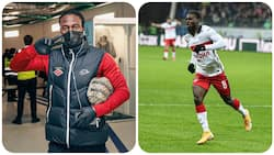 Nigerian star marks arrival of his Babyboy with stunning goal for top European club