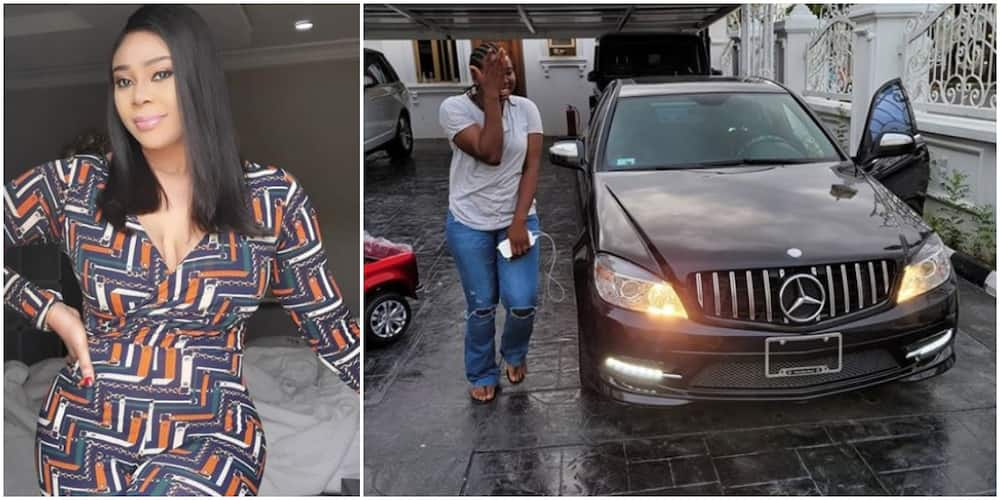 Interior decorator Ehi Ogbebor rewards PA with a Benz for being accountable