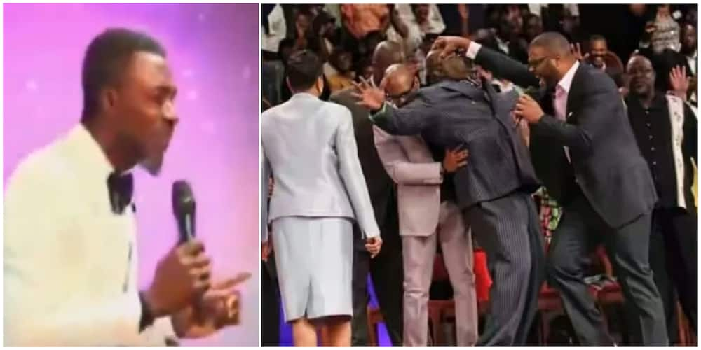 Break anything and pay: Pastor warns members falling under anointing