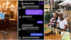 Couple who met on Facebook mark wedding anniversary, screenshot of their first chat gets many talking