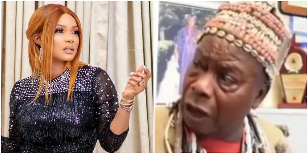 Actress Iyabo Ojo reacts as traditionalist who cursed her allegedly dies