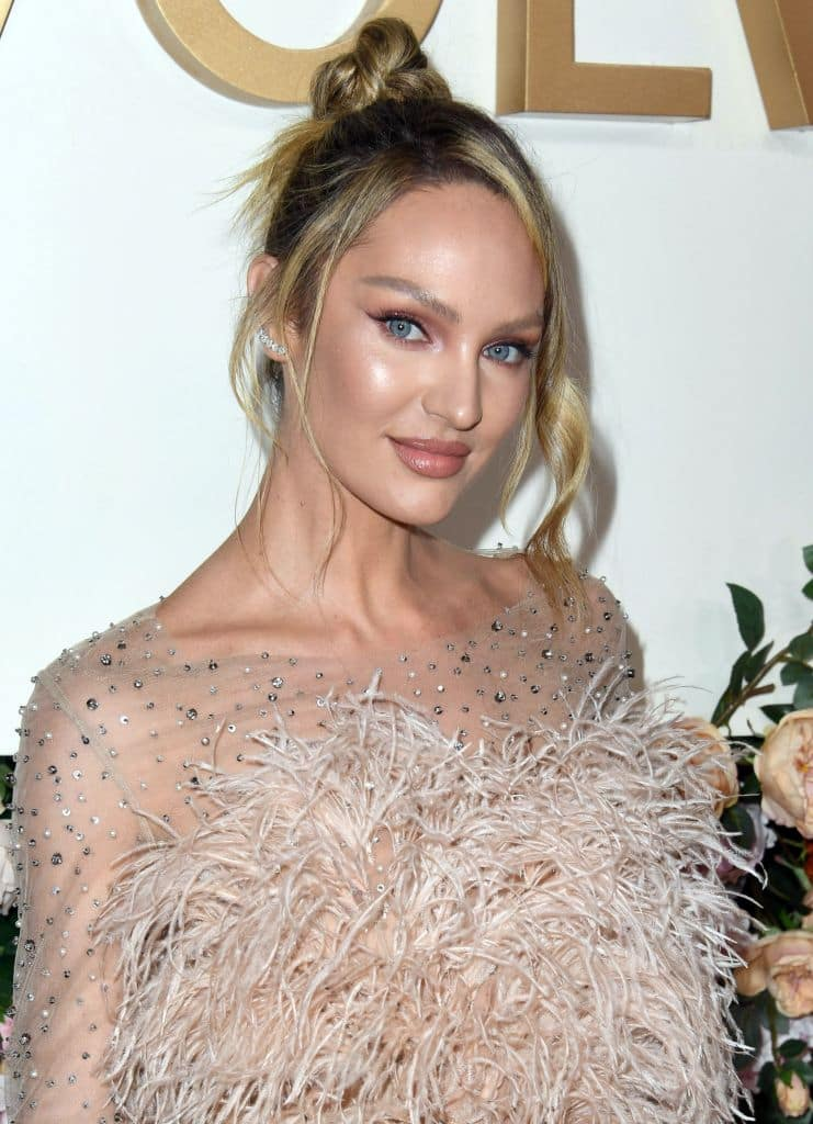 Candice Swanepoel at the 3rd Annual #REVOLVEawards at Goya Studios