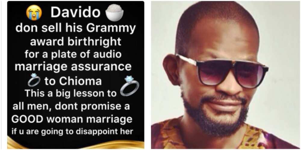 Uche Maduagwu calls out Davido