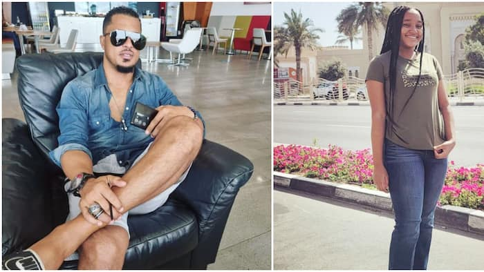 You're the perfect daughter: Actor Van Vicker shows the world his pretty child as she turns 15
