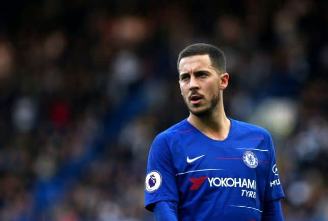 Eden Hazard reportedly wants a move to Real Madrid this summer