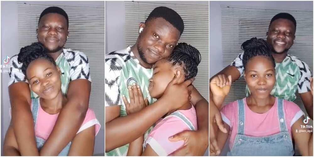 Emmanuel Olatunji Ega and his wife