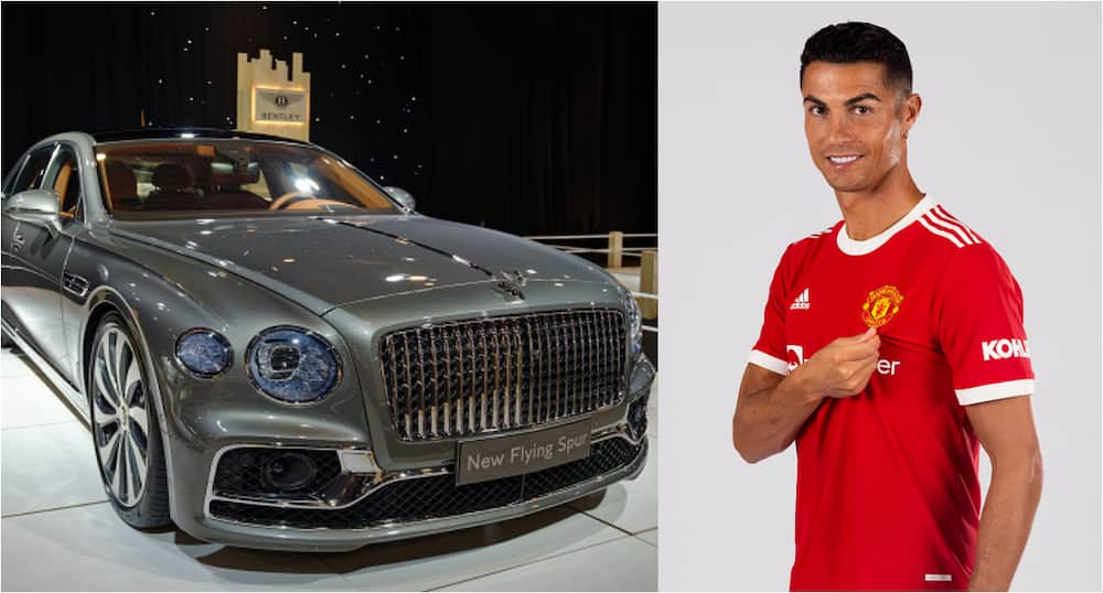 Ronaldo rewards himself with N140m supercar to his collections fast cars since rejoining Man United