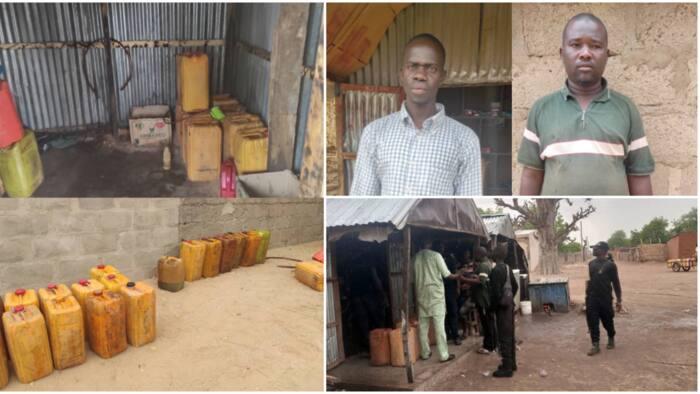Hotunan Samamen Da Sojoji Suka Kai Mabuyar Ƴan Aiken Ƴan Boko Haram