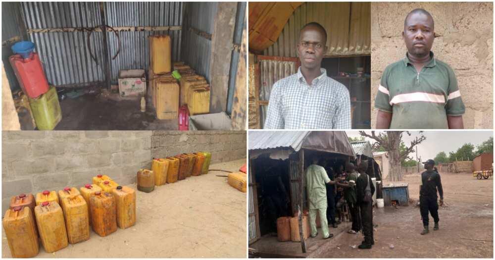 Hotunan Samamen Da Sojoji Suka Kai Mabuyar 'Yan Sakon Boko Haram