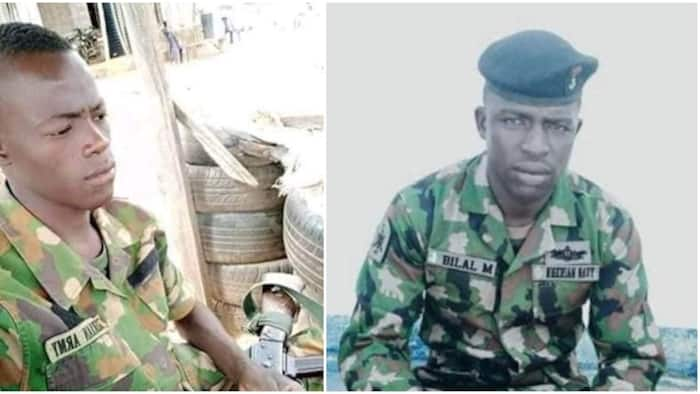 Photo emerges as bandits shoot two soldiers dead in Kaduna