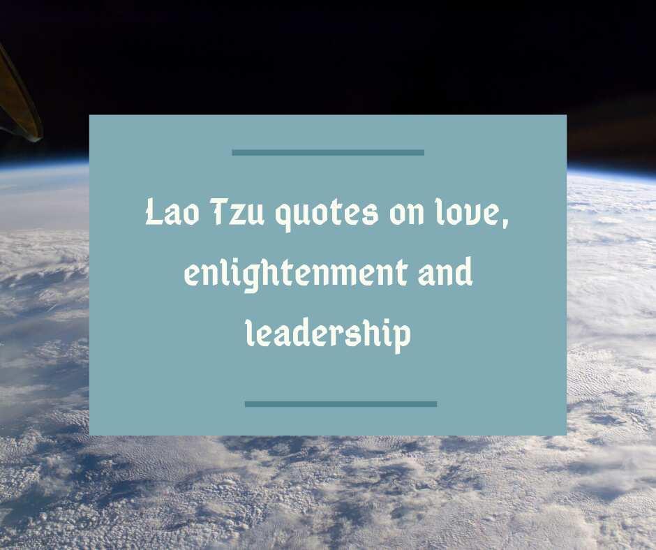 lao-tzu quotes
