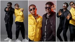 Comedian Kennyblaq shares lovely photos with twin sister as they celebrate birthday, drops account details