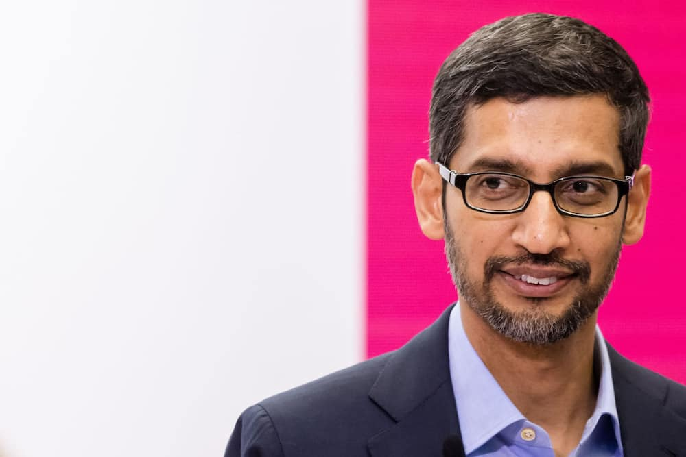 who is the ceo of Google 2020?