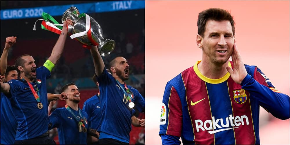 These 2 Italian stars once argued with each other to have Messi's shirt after a game
