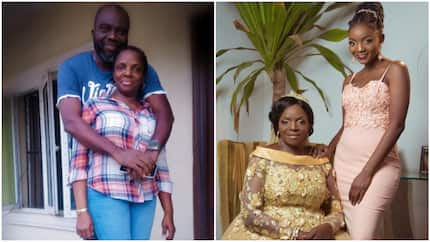 Love can find you anywhere - Simi's mum says as she shares loved up photo of her husband, they met on Facebook
